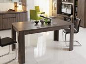 """Table repas """"Wool"""" - 160 x 88 x 79 cm - Réglisse"""