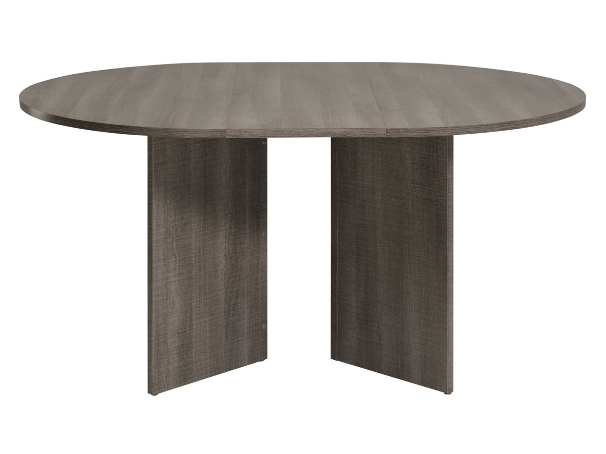 Table repas ronde extensible wool 109 145 x 109 x 75 for Table repas ronde