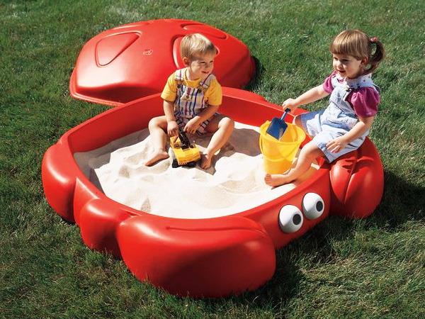 bac sable crabbie sandbox 58406. Black Bedroom Furniture Sets. Home Design Ideas