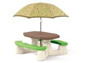 """Table de jardin """"Picnic"""" avec parasol"""