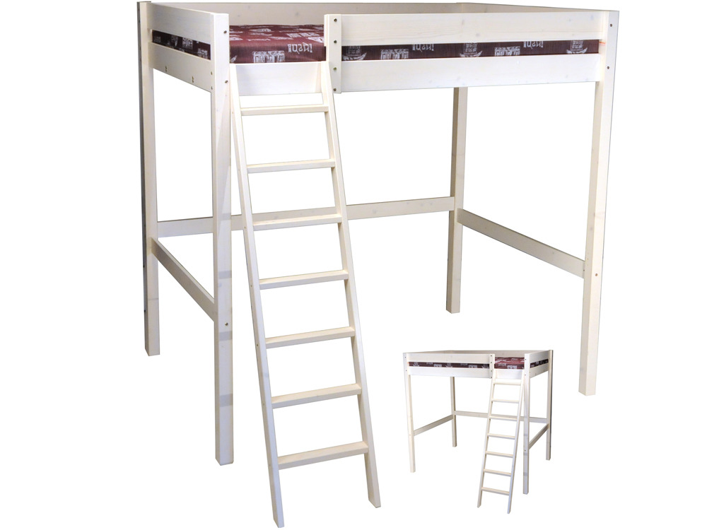 lit mezzanine tina 140 x 200 cm 36448 36451. Black Bedroom Furniture Sets. Home Design Ideas