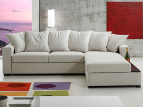 Canapé d'angle tissu