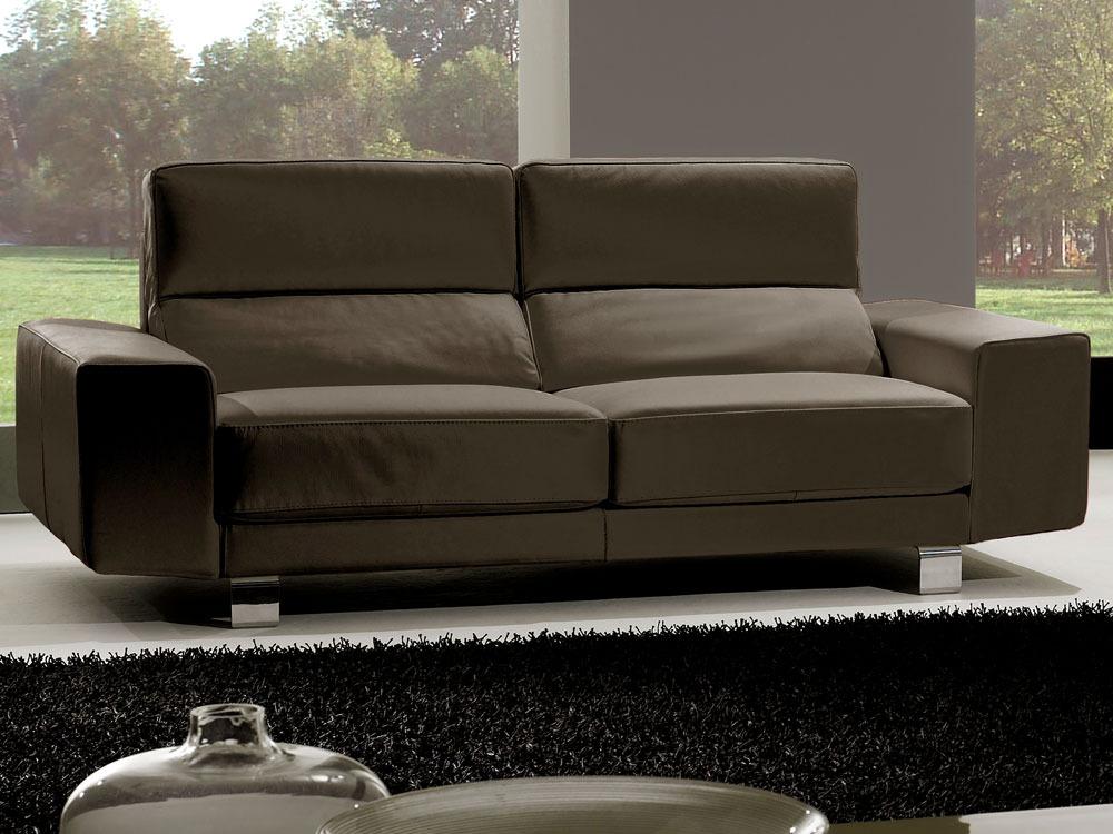 Canapé cuir de vachette Kit - 3+2 places - Blanc