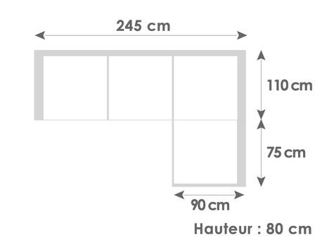 Canap d 39 angle gauche ou droit formentera cuir de for Canape d angle petite taille