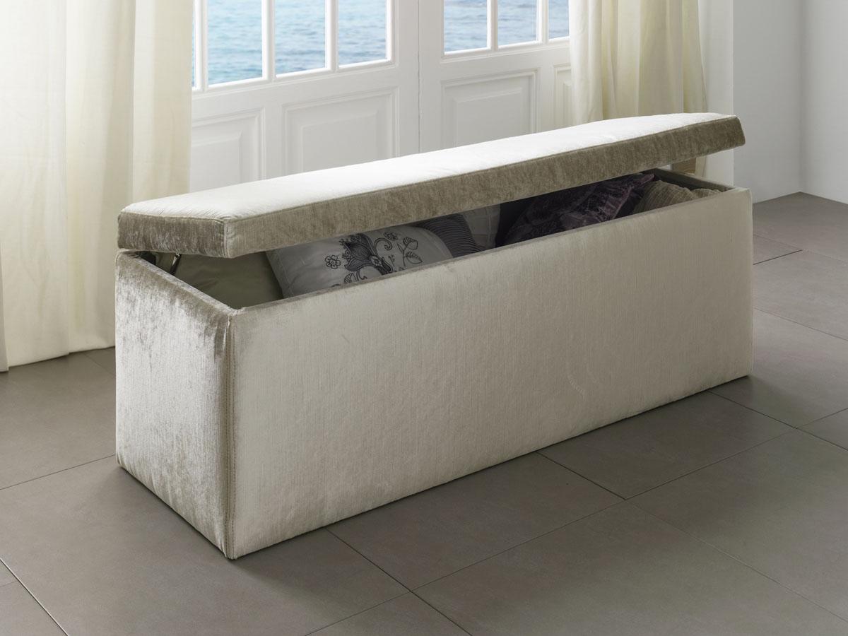 banquette coffre sweet 120 x 40 x 42 cm 85382. Black Bedroom Furniture Sets. Home Design Ideas