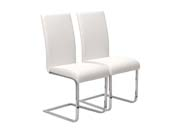 "Lot de 2 chaises ""Angel"" - Blanc"