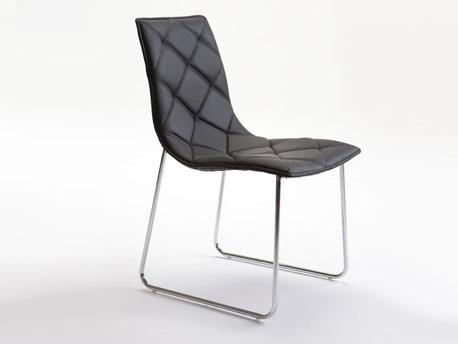"""Lot de 4 chaises """"Andréa"""" - 51 x 60 x 86 cm - Coloris noir"""
