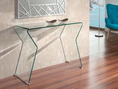 """Console verre """"Smart"""" - 105 x 40 x 75 cm"""