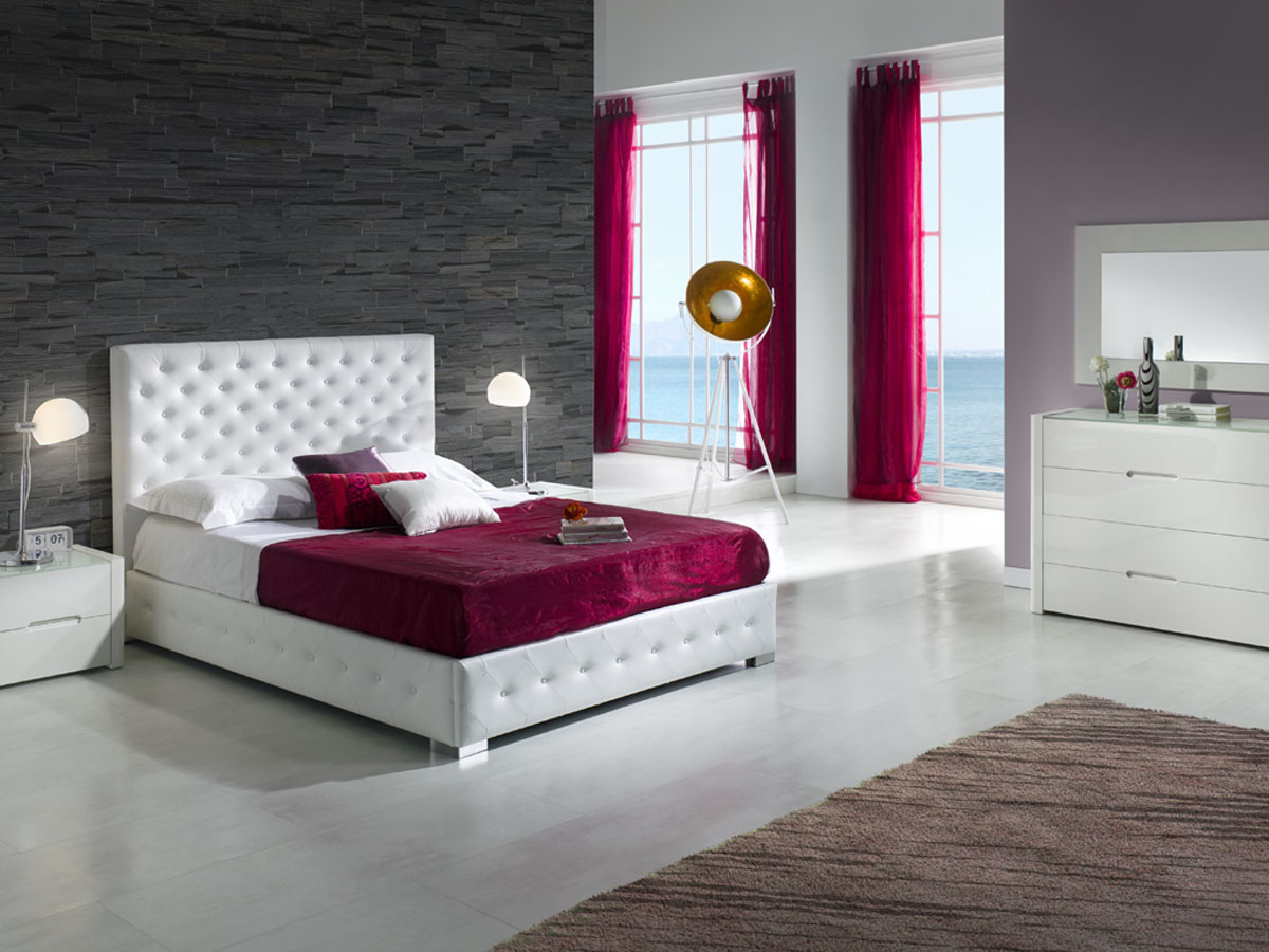 lit coffre alma 140 x 190 cm blanc 85642 85644. Black Bedroom Furniture Sets. Home Design Ideas
