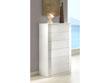 "Chiffonnier ""Delta"" - 59 x 42 x 118 cm - 6 tiroirs - Coloris blanc"