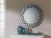 "Miroir mural ""Turin"" - Ø 90 cm"