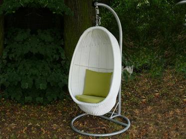 Balancelle jardin - Loveuse suspendue resine tressee ...