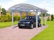 Carport voiture - 36.43 m² - 3.76 x 9.69 x 2.93 m