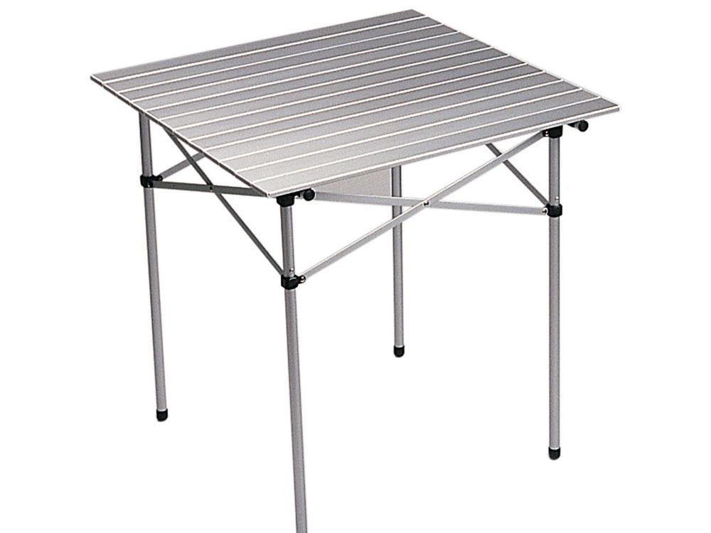 Table de jardin table pliante latte alu 39169 - Habitat table pliante ...