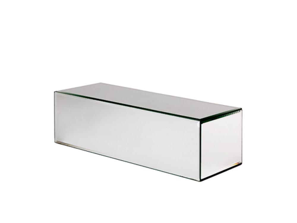 objets de d coration cube en verre 40 x 15 x 12 cm 44238. Black Bedroom Furniture Sets. Home Design Ideas