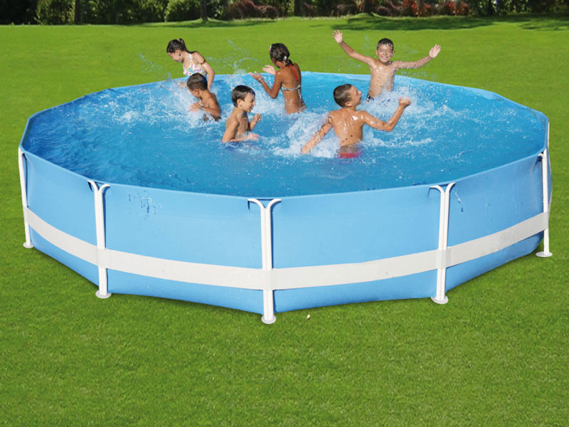 Piscine tubulaire ronde florida x 47196 for Protection platre piscine