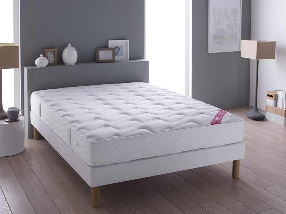 Matelas ressorts Luxe suspension Stockholm - 180 x 200 cm