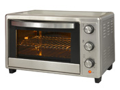 "Four multifonctions ""KYS C30RCL"" - Inox - 30 L - 1600 W"