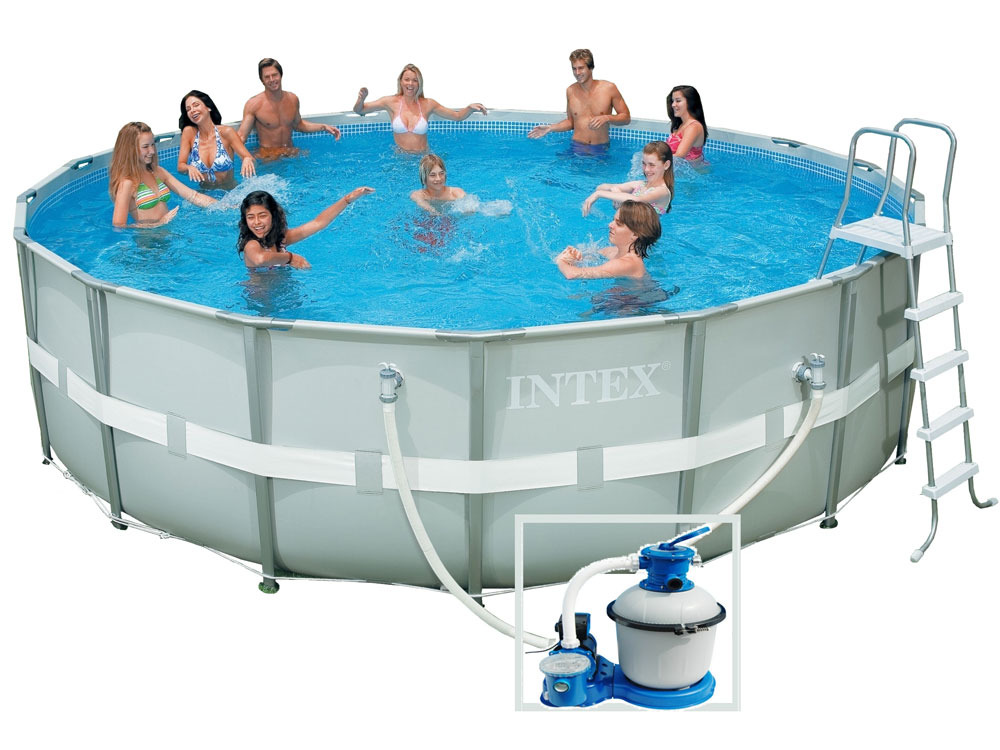 Piscine tubulaire ronde for Piscine tubulaire pas chere