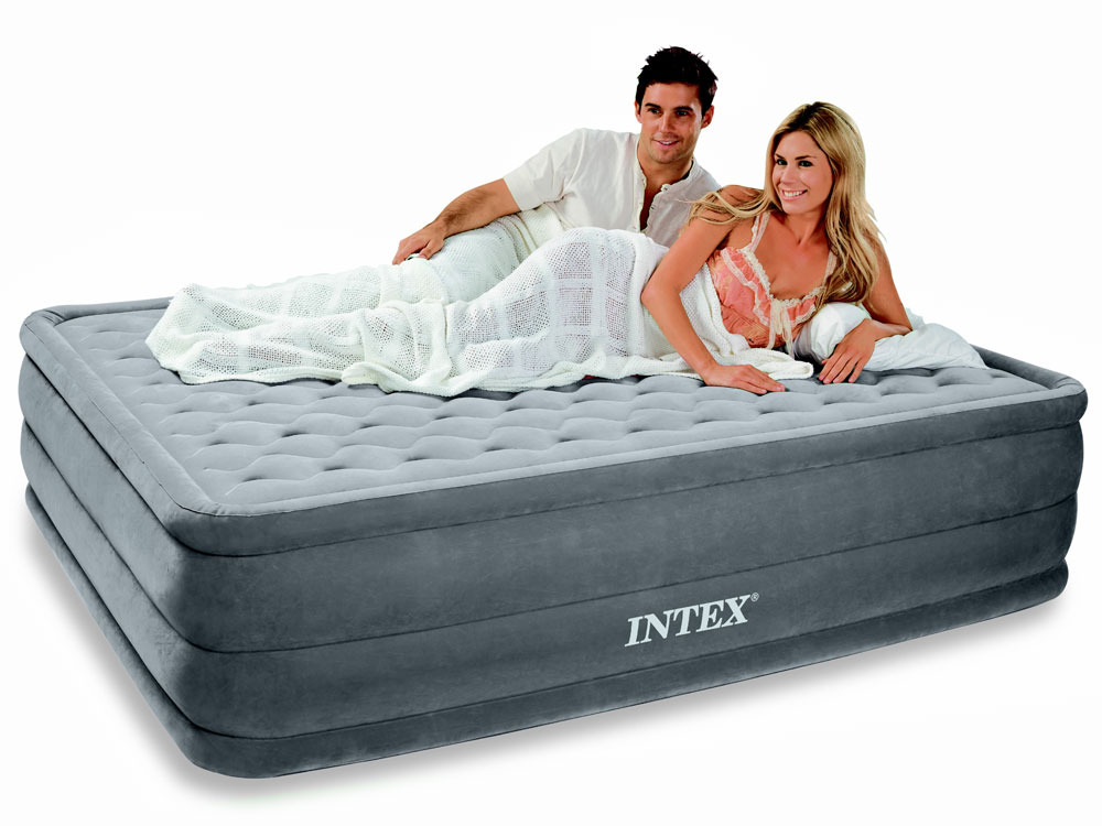 matelas lit gonflable lectrique ultra plush 2 places. Black Bedroom Furniture Sets. Home Design Ideas