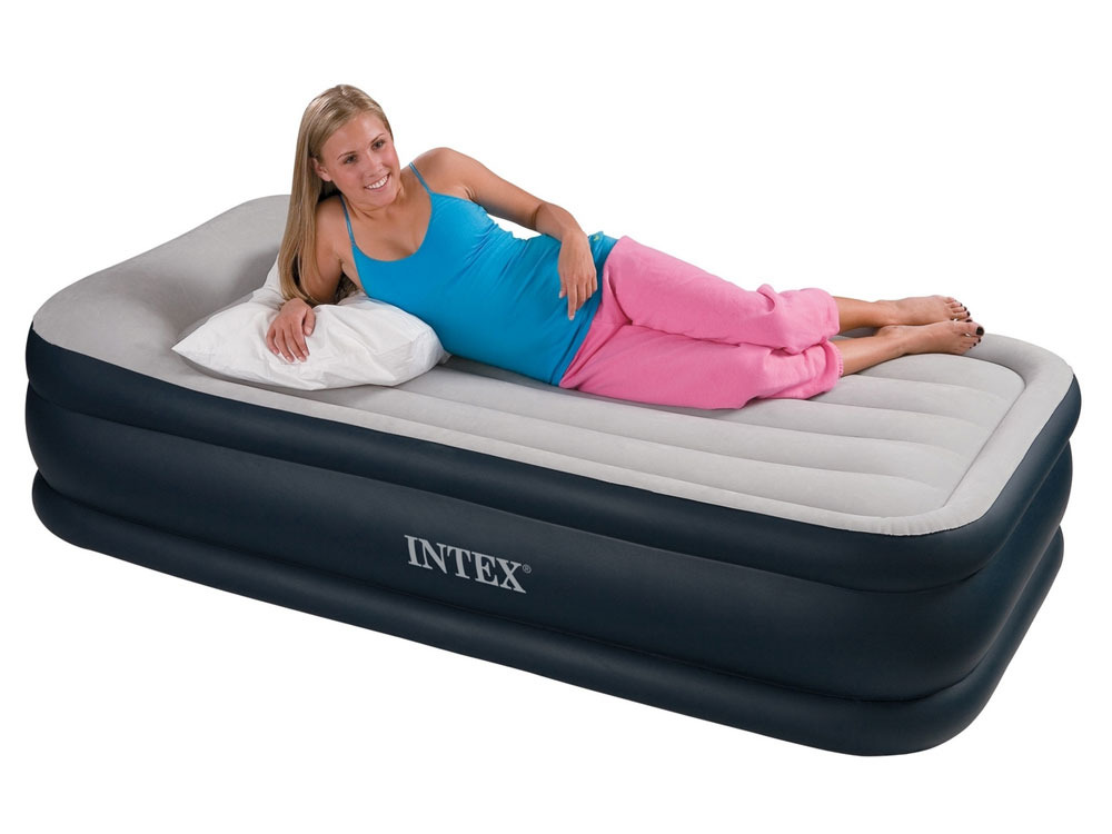 matelas lit gonflable lectrique deluxe rest bed 1 place 38901 38902. Black Bedroom Furniture Sets. Home Design Ideas