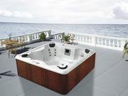 """Spa """"Samoa"""" 4/5 places assises - système Balboa + station d'Iphone intégré - 230x220x80cm"""