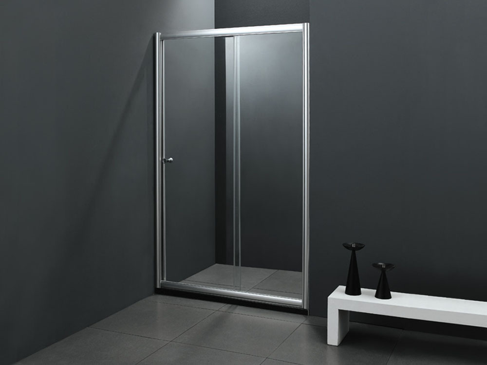 Porte de douche coulissante quotamsterdamquot 120 x 183 cm 51322 for Porte douche coulissante 80 cm