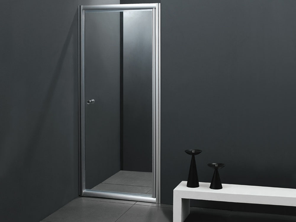 porte de douche battante rotterdam 80x180 cm 51328. Black Bedroom Furniture Sets. Home Design Ideas