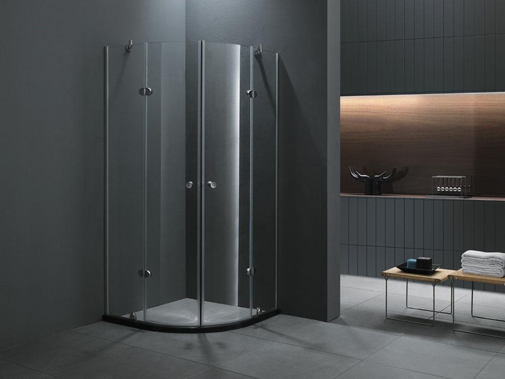 paroi de douche helsinki quart de cercle 90 x 90 x 185cm. Black Bedroom Furniture Sets. Home Design Ideas