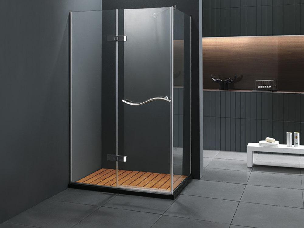 paroi de douche bergen rectangulaire 80x120x183 cm 51331. Black Bedroom Furniture Sets. Home Design Ideas