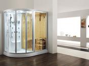 """Combiné douche, hammam et sauna """"Vancouver"""" - 180 x 120 x 220 cm"""