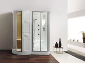 """Combiné douche, sauna et hammam """"Hebron"""" 180 x 90 x 215 cm"""