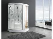 "Combiné douche, sauna et hammam ""Calgary"" 170 x 90  215 cm"