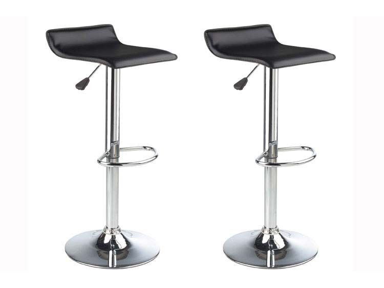 Lot de 2 tabourets de bar barry rouges 52231 52235 - Tabouret bar habitat ...