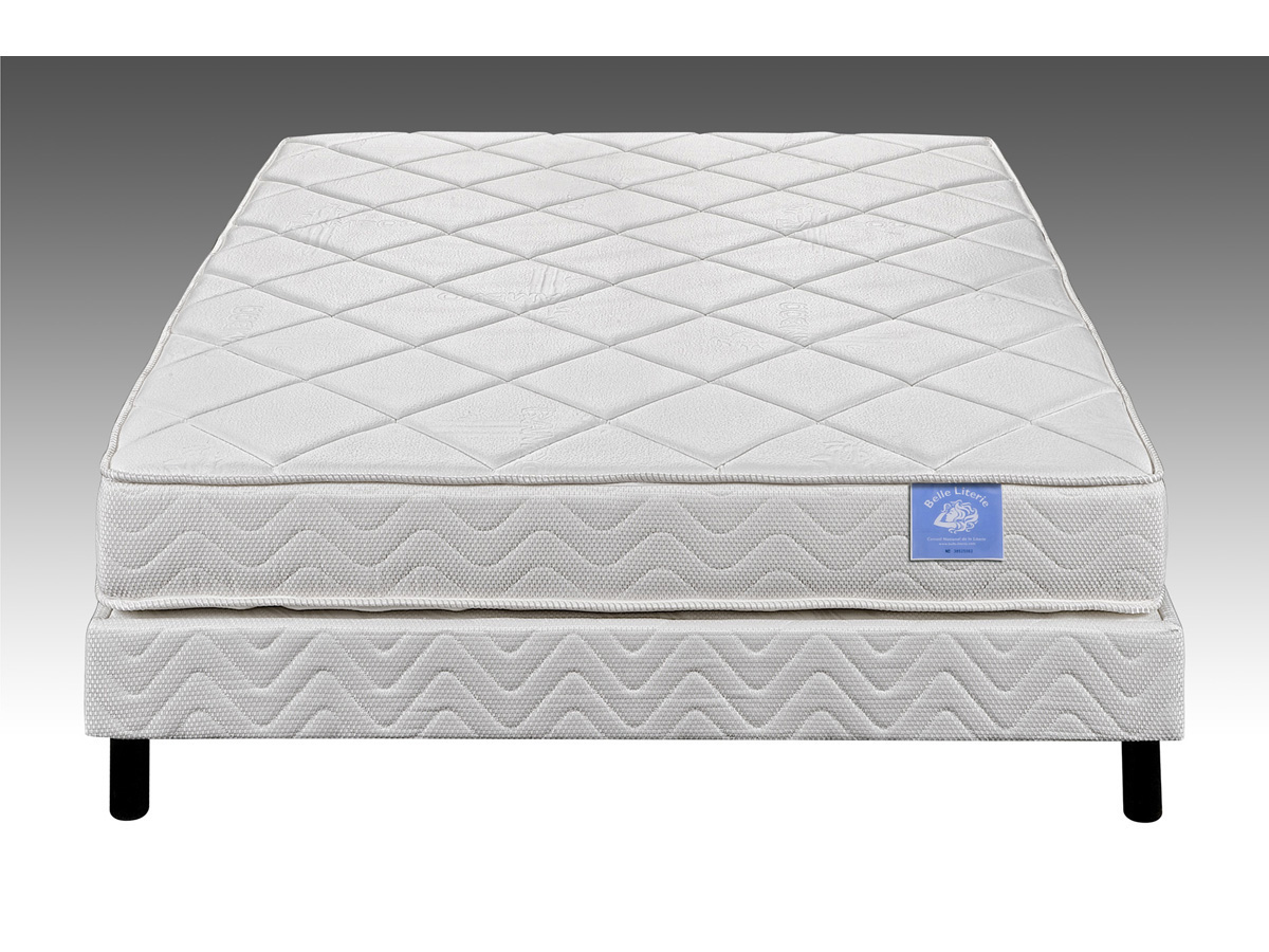 Matelas ressorts luxe Elody - 140 x 190 cm