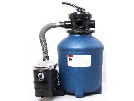Groupe de filtration à sable complet 5.7 m3/h