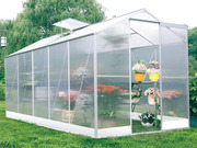"Serre jardin polycarbonate ""Lilas"" 6m�"