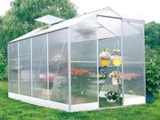 Serre jardin polycarbonate  Lilas  4.8m²