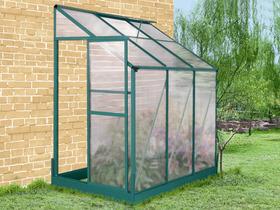 mini serre de jardin ou balcon polycarbonate capucine 0 8m2. Black Bedroom Furniture Sets. Home Design Ideas