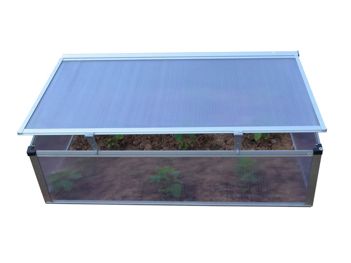 Serre chassis polycarbonate rosa 0 6 m x x - Chassis de jardin en polycarbonate ...