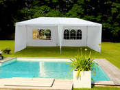 "Tente de réception ""Carolina"" en polyéthylène - 3 x 6 m"