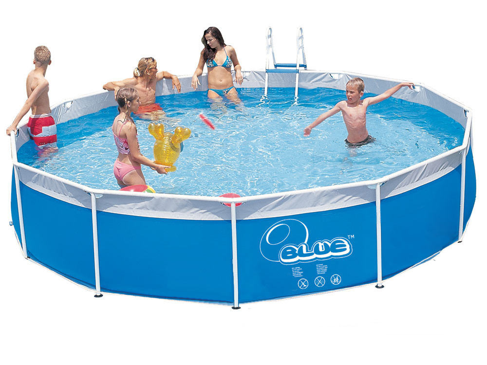 Piscine tubulaire x m b che de protection 56247 for Protection platre piscine