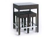 "Ensemble ""Alto"" - Table haute + 4 tabourets"