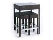"""Ensemble """"Alto"""" - Table haute + 4 tabourets"""