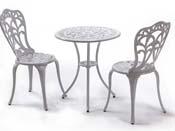 """Ensemble de jardin """"Romance"""" - Table + 2 chaises"""