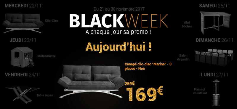 Blackweek du 21 au 30 novembre 2017
