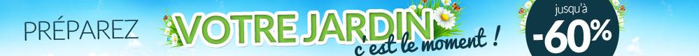 Profitez de votre jardin, jusqu'� -60%