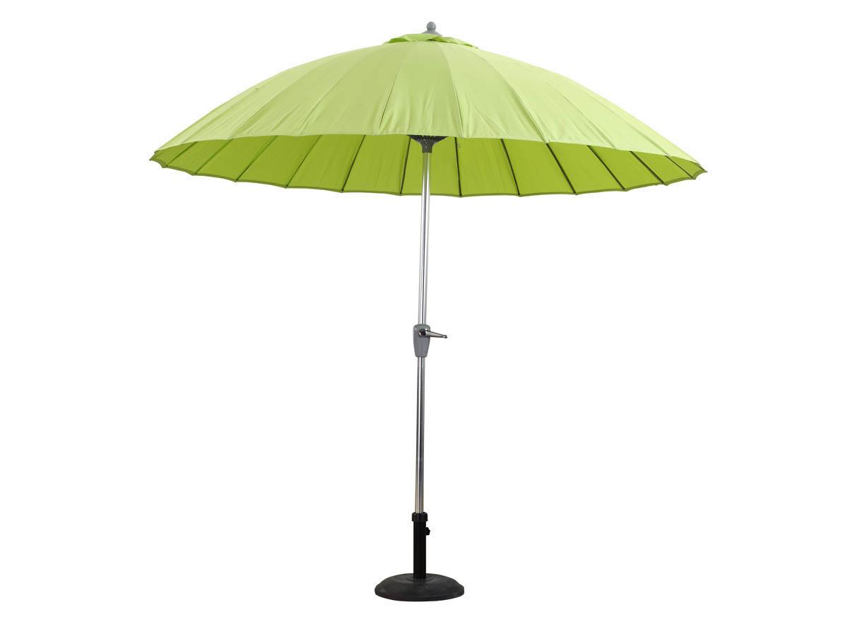 Parasol vert anis