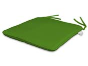 Lot de 2 assises 35 x 35 cm coloris Vert Anis