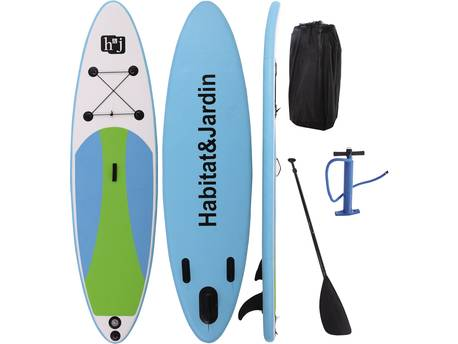"Paddle ""Sup wave A1"" - 305 x 81 x 10 cm - Vert"